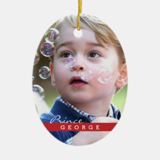 Prince George of Cambridge Ceramic Ornament