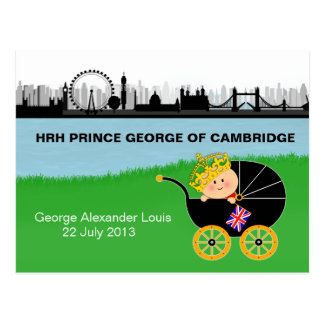 Prince George of Cambridge Postcard