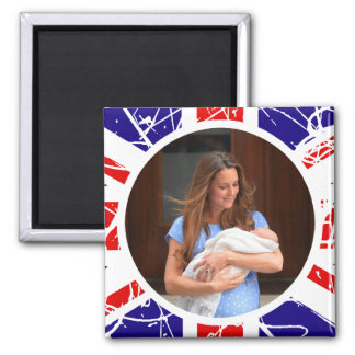 Prince George Royal Baby Fridge Magnets