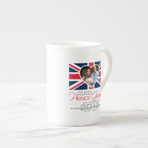 Prince George - Royal Celebration Porcelain Mugs