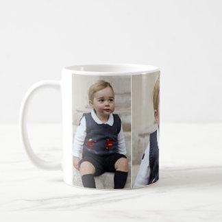 Prince George - William & Kate Basic White Mug