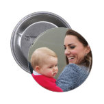 Prince George - William & Kate Buttons