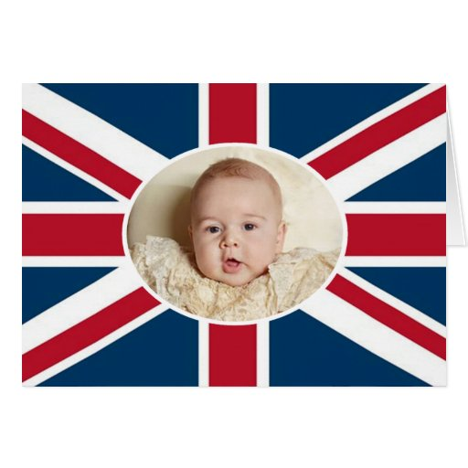 Prince George - William & Kate Card