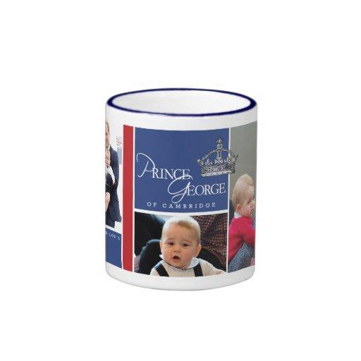 Prince George - William & Kate Coffee Mug