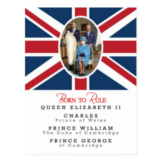 Prince George - William & Kate Postcard