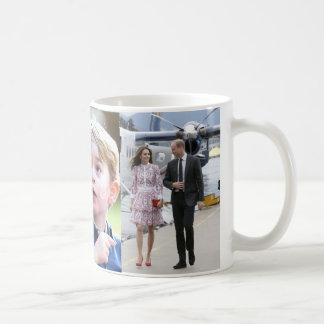 Prince George & William Princess Charlotte & Kate Coffee Mug