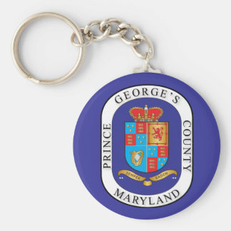Prince George's County seal Key Ring
