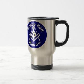 Prince Hall Masonic Travel Mug