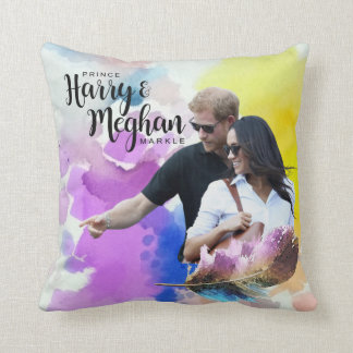 Prince Harry & Meghan Markle Cushion
