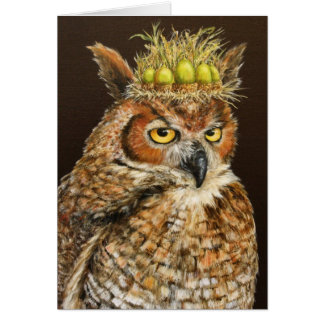 Prince Moore the owl card