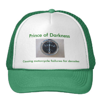 Prince of Darkness, Cap