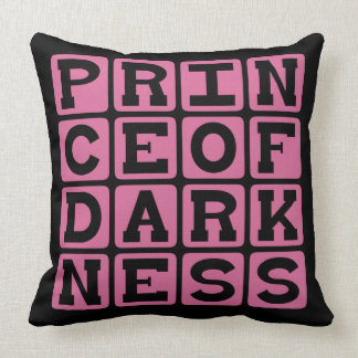 Prince of Darkness, Evil Man Throw Pillow