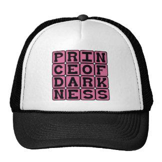 Prince of Darkness Evil Man Hat