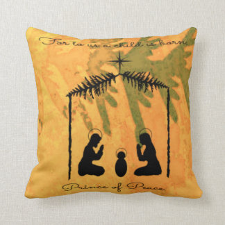 Prince of Peace Nativity Cushion