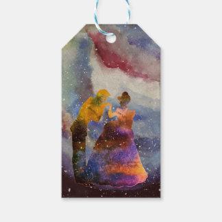 Prince Princess Art Custom Gift Tag