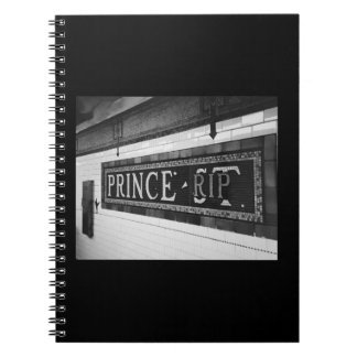 Prince (RIP) Spiral Notebook