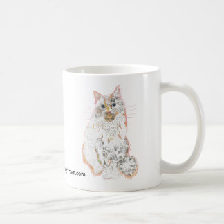 Prince Robin Cat Collage mug