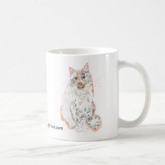 Prince Robin Cat Collage mug