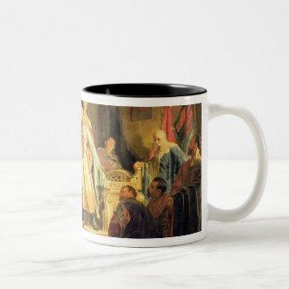 Prince Roman of Halych-Volhynia Two-Tone Coffee Mug