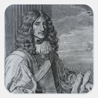 Prince Rupert of the Rhine Square Sticker