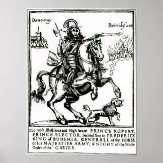 Prince Rupert on Horseback Poster