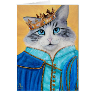 Prince Sully the Kitty Card