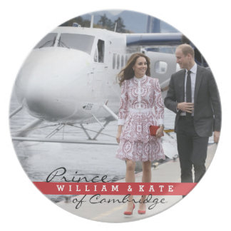 Prince William and Catherine Dinner Plate