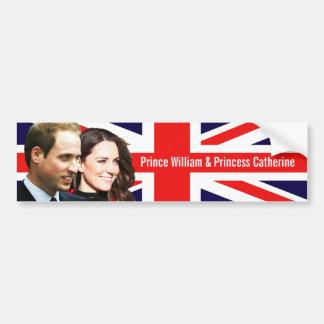 Prince William & Kate Bumper Sticker