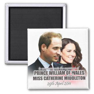 Prince William Kate Royal Wedding Magnet