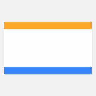 Prince's Flag Rectangular Sticker