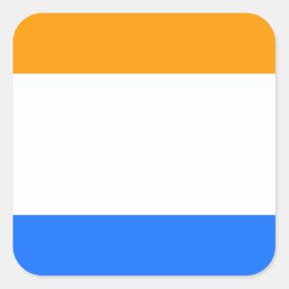 Prince's Flag Square Sticker