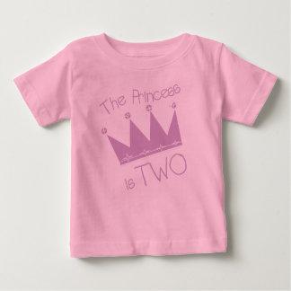 Princess 2nd Birthday Baby T-Shirt