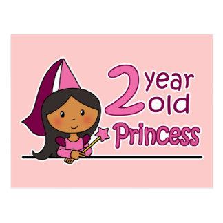 Princess Age 2 Post Card