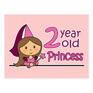 Princess Age 2 Postcards