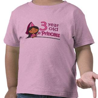 Princess Age 3 Shirt