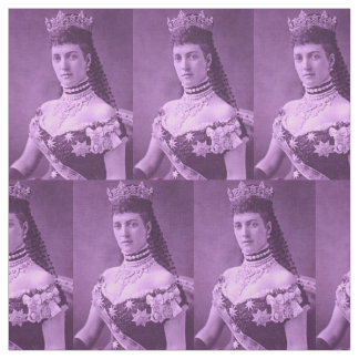 Princess Alexandra of Denmark in lavender Fabric
