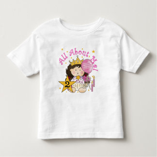 Princess All About Me 2nd Birthday Toddler T-Shirt