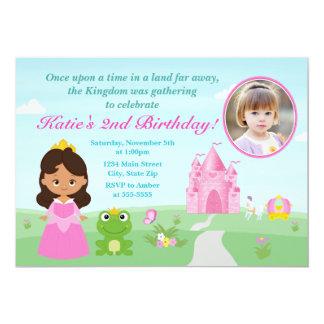 Princess And The Frog Birthday Invitation