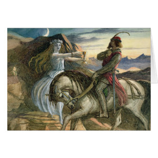 Princess and the Knight, Card