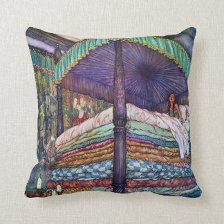 Princess and the Pea Edmund Dulac Fine Art Cushion