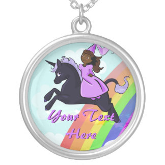 Princess and Unicorn Necklace