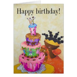 Princess Arabella birthday card