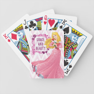 Princess Aurora Bicycle Playing Cards