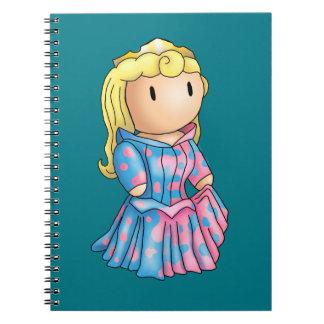 Princess Aurora Stomp Notebook