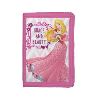 Princess Aurora Tri-fold Wallets