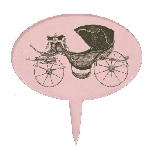 Princess Baby Shower Oval Cake Picks