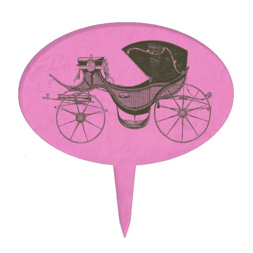 Princess Baby Shower Oval Cake Toppers