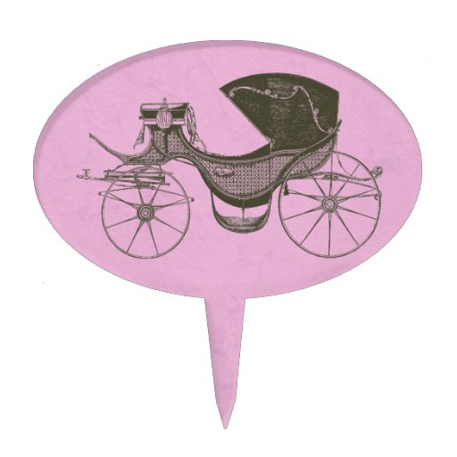 Princess Baby Shower Oval Cake Topper