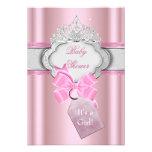 Princess Baby Shower Girl Pink Tiara Princess Announcement
