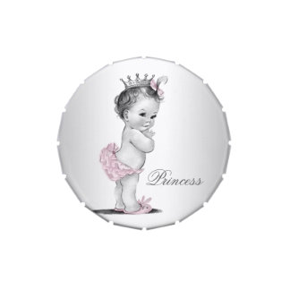Princess Baby Shower Jelly Belly Candy Tins
